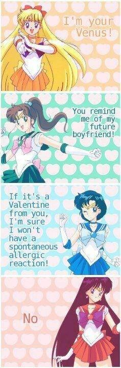 Sailor Moon Valentines