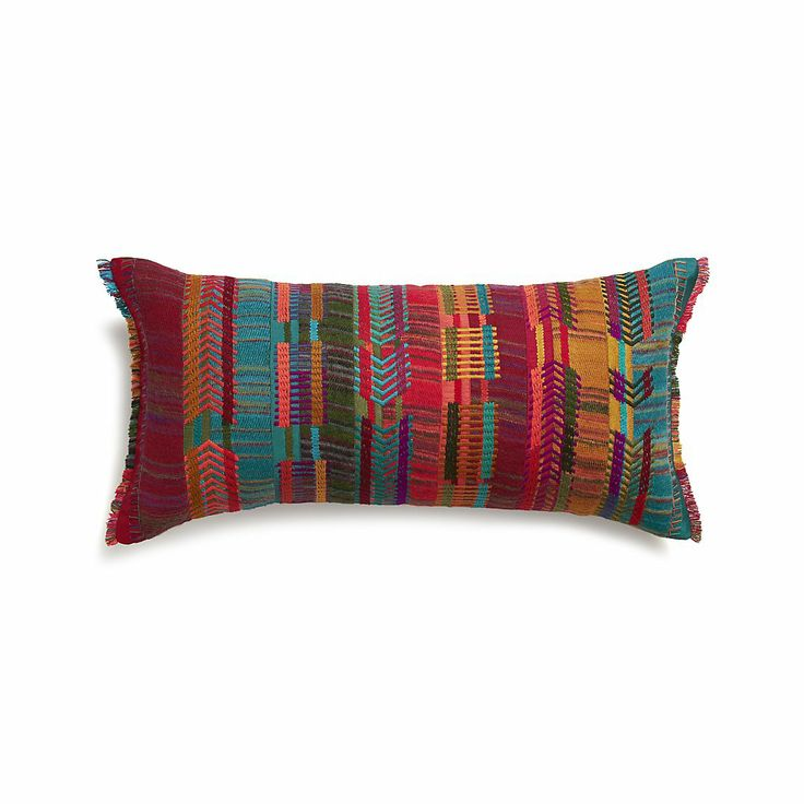 Crate And Barrel Decorative Pillow Covers : 17 Best images about Weaving on Pinterest Indigo, Loom and Weaving