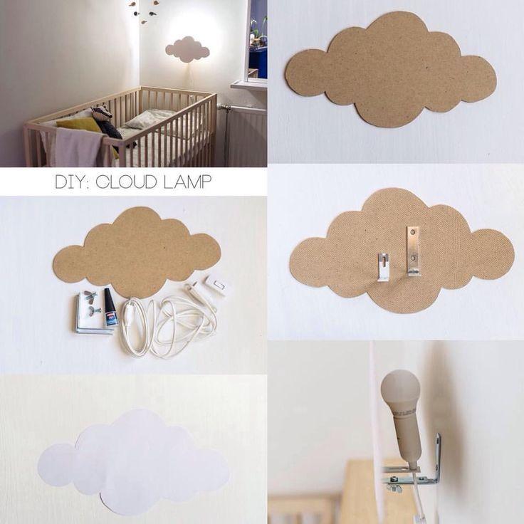 DIY Wolke Lampe