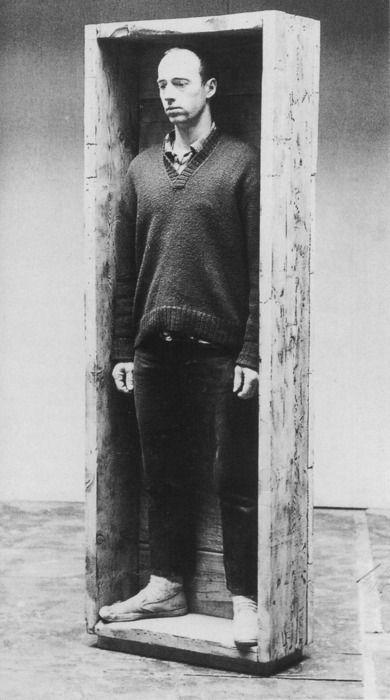 Robert Morris, Box for Standing, 1961
