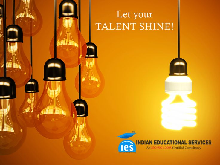 Talent is like electricity. We don't understand electricity, but we use it!