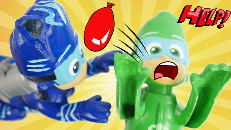 PJ Masks Owlette Gekko Catboy have a Water Balloon fight. They also like to play games with Bath Paint. Later they get Mashems and Fashems toy surprises and have so much summer fun in the waterballoon pool! These are the Buncho Balloons where you can fill up 100 water balloons in 60 seconds.  Subscribe here to never miss a video: https://www.youtube.com/channel/UCsRW8ikkc-uISUXtNKBfFcw?sub_confirmation=1  - Watch my last video: https://youtu.be/r62lcv3dtFw  More of my videos in playlists…