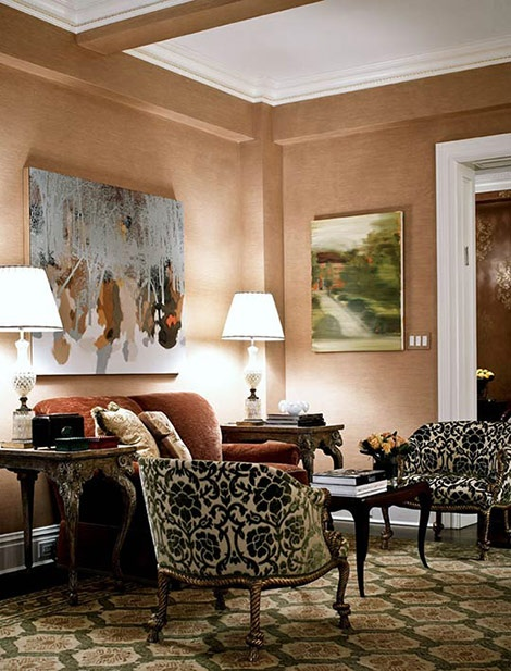 damask living room 81 best images about terra cotta living room on 11614
