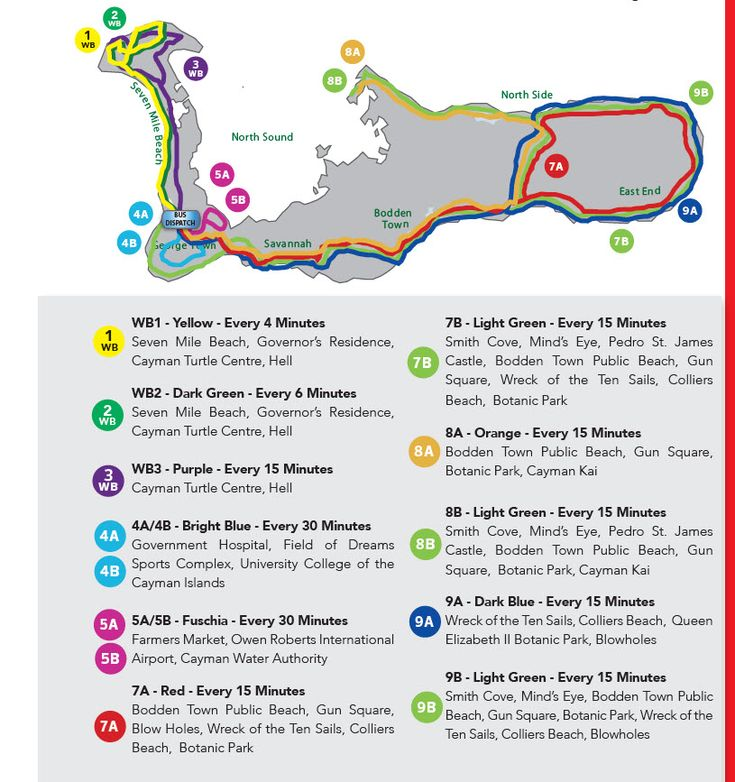 Getting Around in Grand Cayman | Car Rentals, Taxis & Bus Routes