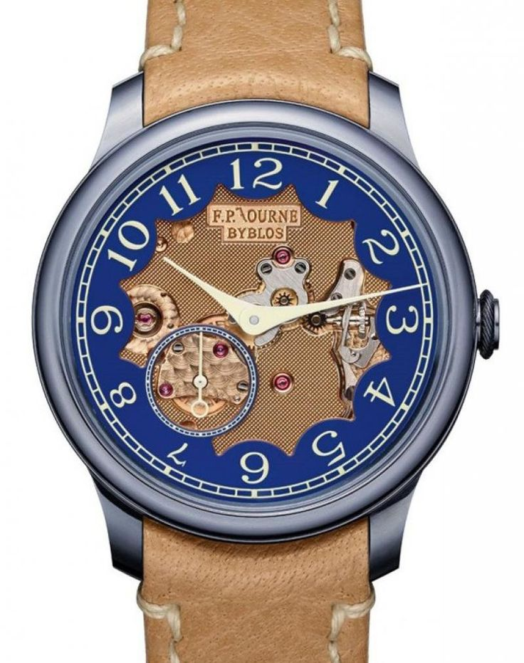 F.P.Journe Chronometre Bleu Byblos Limited series часы 39 mm