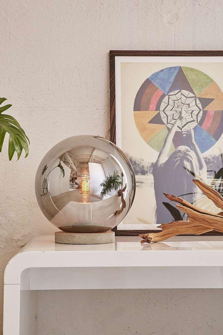Round Cloche Table Lamp