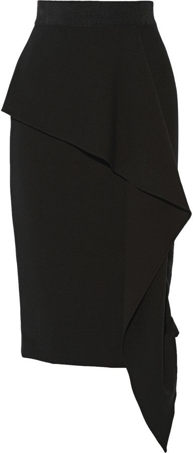 Shop for Draped Stretch-Jersey Skirt by Milly at ShopStyle. Now for Sold Out.