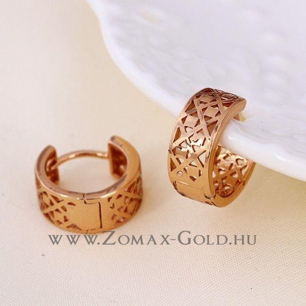 Petra fülbevaló - Zomax Gold divatékszer www.zomax-gold.hu