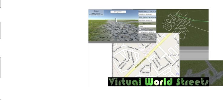 Open Street Map API - Virtual Roads