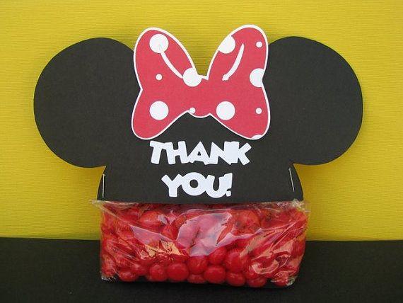 Minnie candy bag topper.