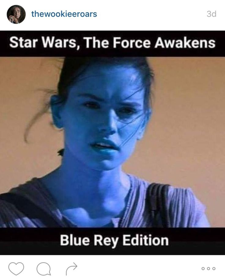 Star Wars The Force Awakens Blue Rey Edition-teehee