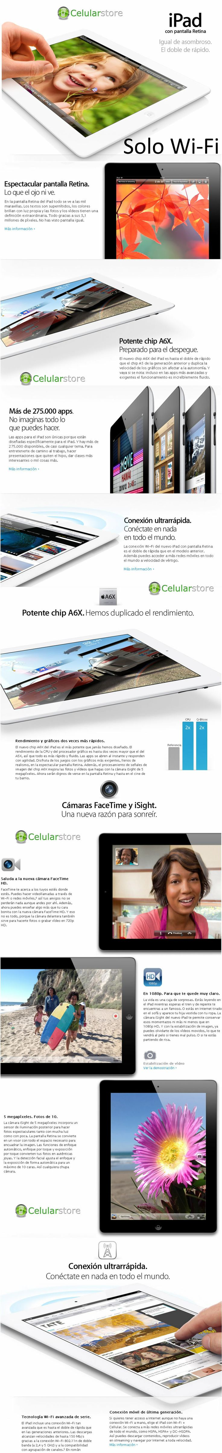 comprar apple ipad 4 / venta apple ipad 4 en argentina