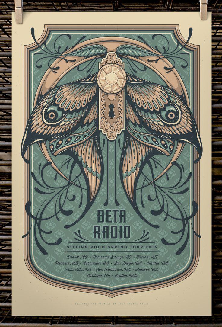 Half Hazard Press Beta Radio And Susquehanna Breakdown Posters
