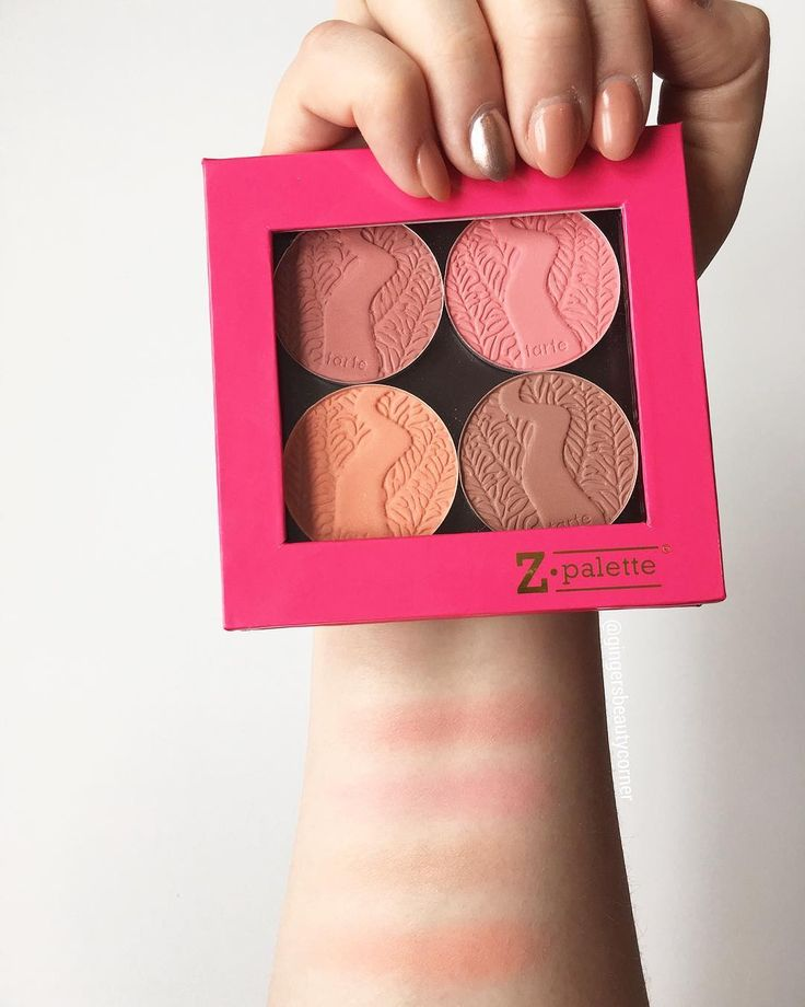 TARTE COSMETICS BLUSHES ARE THE BEST BLUSHES! swatches by @gingersbeautycorner