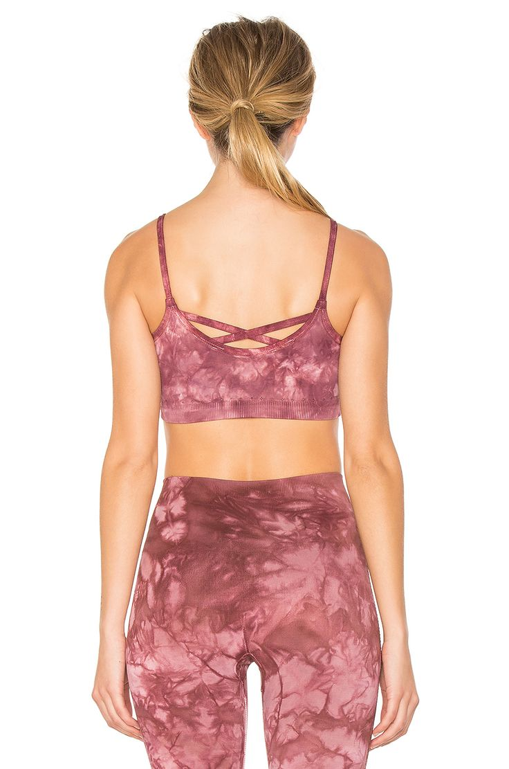 Free People Washed Barely There Bra in Pink | REVOLVE