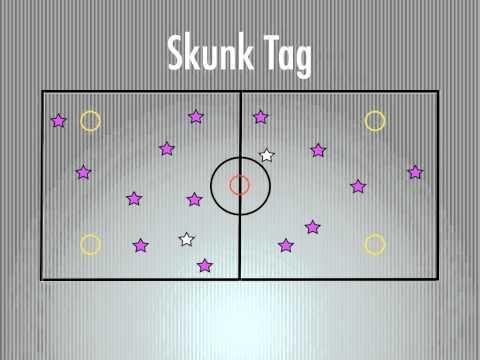 P.E. Games - Skunk Tag - YouTube