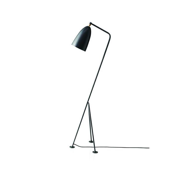 Grasshopper gulvlampe fra Gubi ble designet 1947 og er kanskje Greta Grossmans mest kjente design. L...