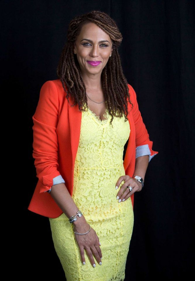 "In this June 15, 2015 file photo, actress Nicole Ari Parker, wife of actor Boris Kodjoe, poses to promote their upcoming talk show ""The Boris and Nicole Show"" in New York. The show will air in a test run beginning July 6 for four weeks on select Fox stations. (Photo by Amy Sussman/Invision/AP, File)"