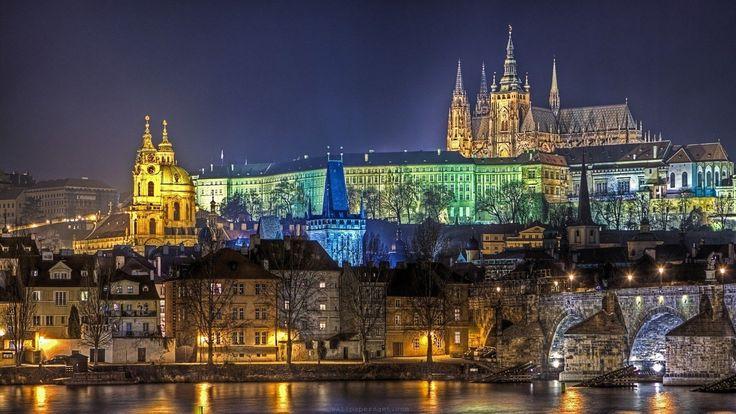 Prague Castle Prague Theestle HD Wallpaper Wide