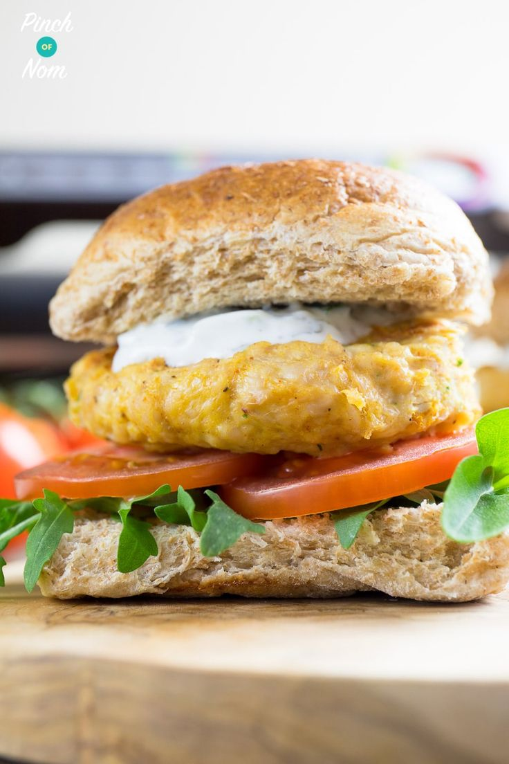 Slimming World Syn Free Tikka Turkey Burgers