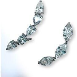 Lorraine Schwartz Diamond Earrings as seen on Eva Longoria