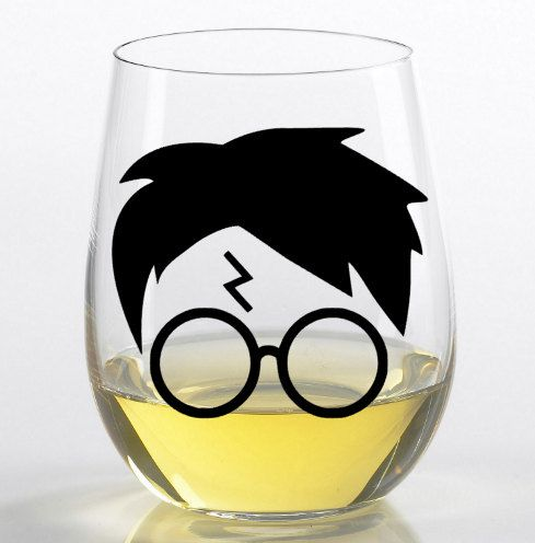 Make a statement at your backyard barbecues with these Harry Potter wine glasses.