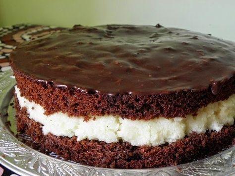 """Самый вкусный торт """"Райское наслаждение"""" с кокосовой стружкой"""