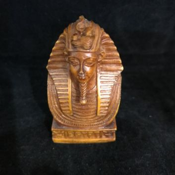 Tutankhamun Ornament Medium. Approx 7.5cm High.  Made in Egypt
