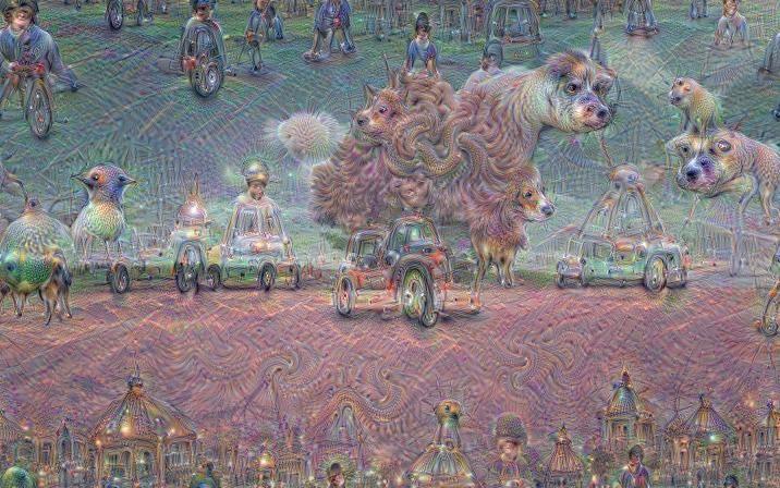 #Inceptionism  Il software alla base della funzione di riconoscimento delle #immagini di #Google può produrre rappresentazioni psichedeliche simili ai #sogni