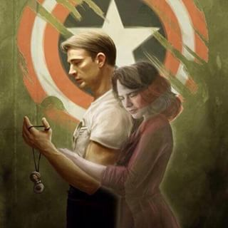 Marvel's Agent Carter (ABC): With super angsty Steggy fanart. | 22 Times Hayley Atwell Stole Your Heart