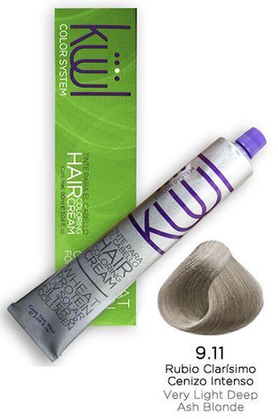 Kuul Hair Coloring Cream 9 11 Very Light Ash Blonde 3