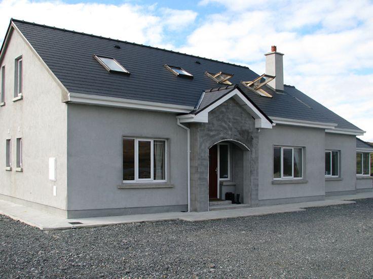 Pomagaliśmy wyposażyć w okna ten dom w Irlandii.