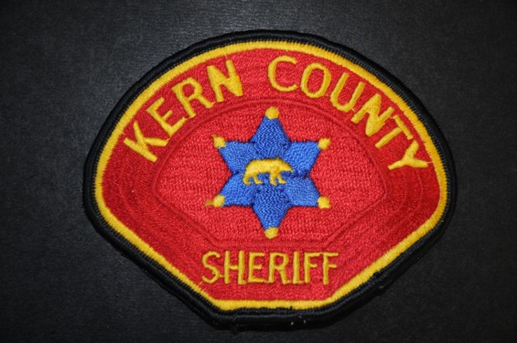 Kern County Sheriff Patch (Right Shoulder), California (Current - 3rd Issue)