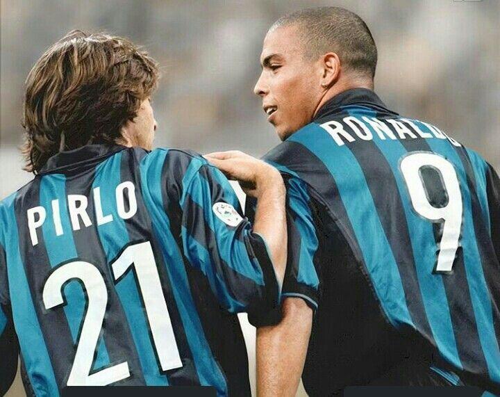Andrea Pirlo Ronaldo Team friend #İnternazional