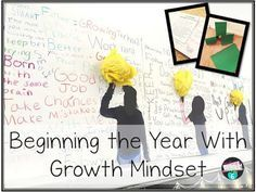 A lesson to get the kids engaged and learning about growth mindset. Fun and impactful!