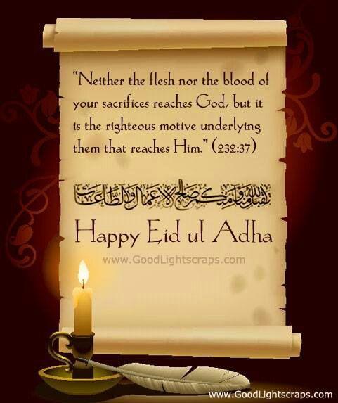 Eid ul Adha Mubarak!