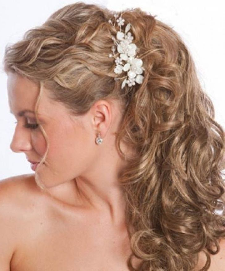 Hairstyles For Short Curly Hair Wedding Guest Long