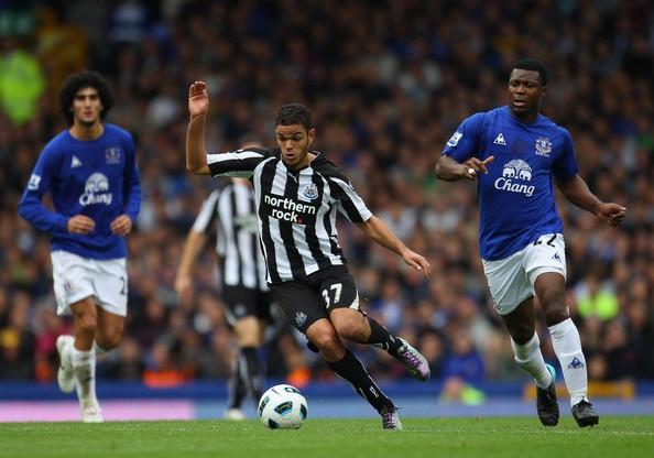 ~ Hatem Ben Arfa on Newcastle United FC against Everton FC ~
