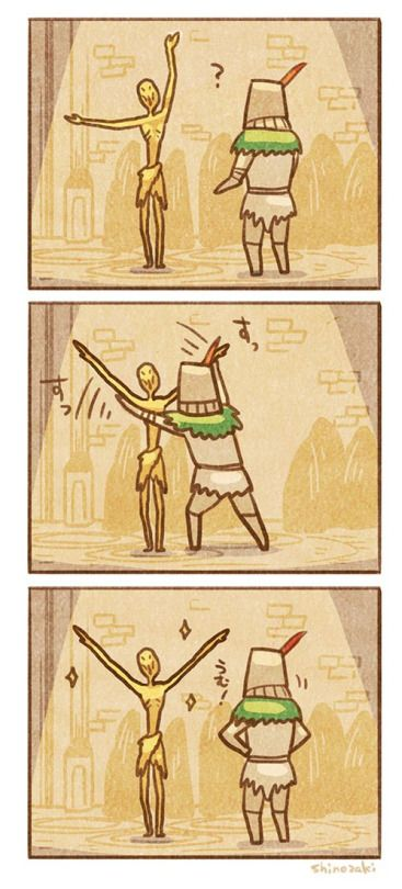 Praise the Sun! #DarkSouls