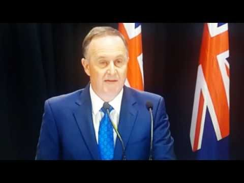 John Key Resigns as Prime Minister of New Zealand (Video) 5/12/2016