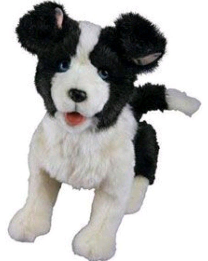 Furreal Friends Scamps My Playful Pup Animatronic Toy Fur Real Friends Little Live Pets Puppy Snuggles