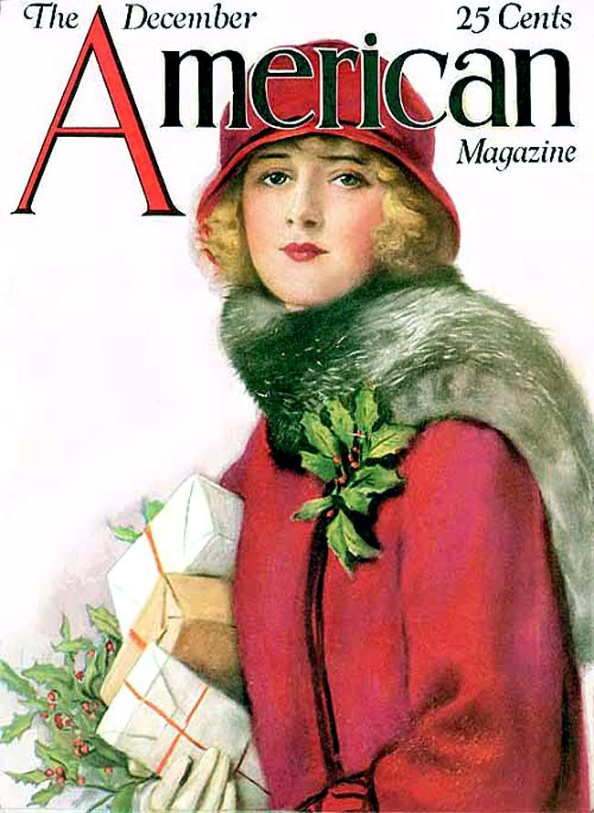 The beautifully illustrated front cover of american for Old magazines