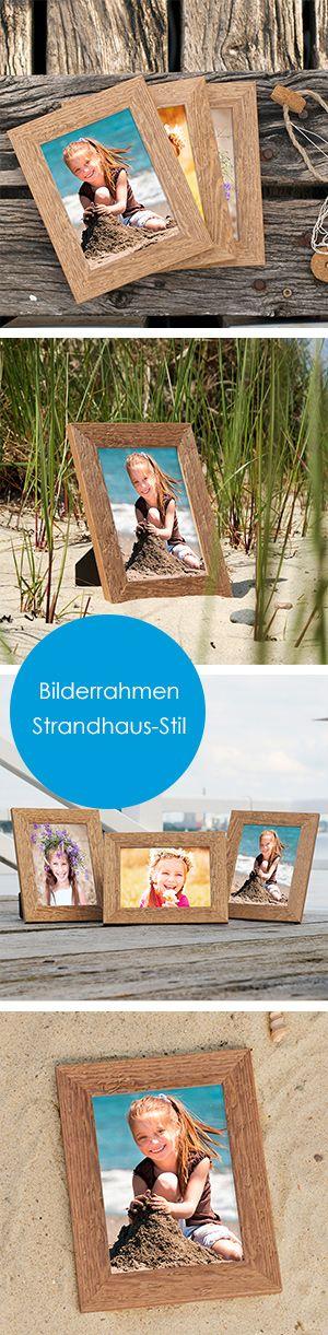 Hol dir mit unseren Strandhaus-Rahmen das Sommerfeeling in dein Zuhause! Ob als Bilderrahmen-Set, Einzelrahmen oder Spiegel, mit diesen Rahmen wird deine Zimmereinrichtung zum Hingucker.