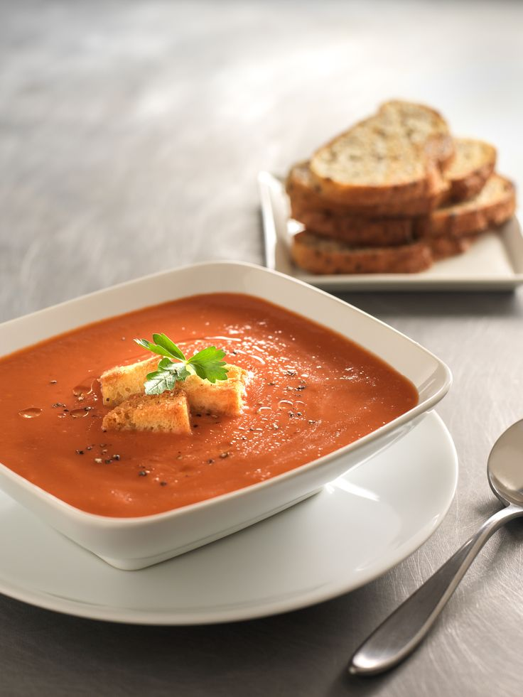 Stay warm this season with a bowl of our creamy tomato soup with truffle oil – an easy-to-make gourmet comfort food!