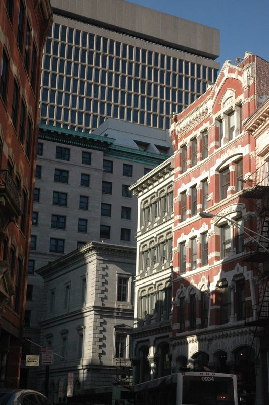 Variety of architecture in Providence, RI  © Steve Hopkins Photography