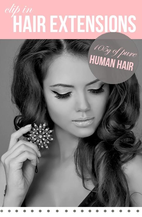"20"" Luxury Lengths 105g Human Hair   Hair Combat £79.99"