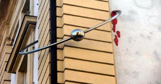 «Palazzo con il piercing» (© Curiosità Torino)