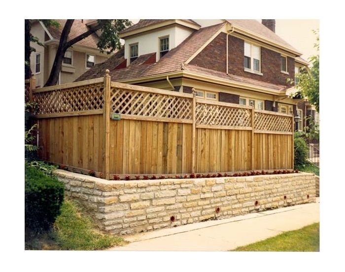 Different Types Of Wooden Fence Designs WoodWorking