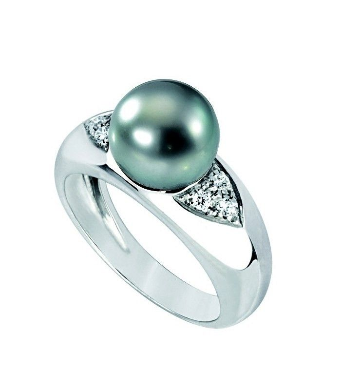 bague or diamant perle de tahiti poemotu http://www.poemotu.com/perles-de-tahiti/en/1048-huahine-tahitian-pearl-s-ring.html