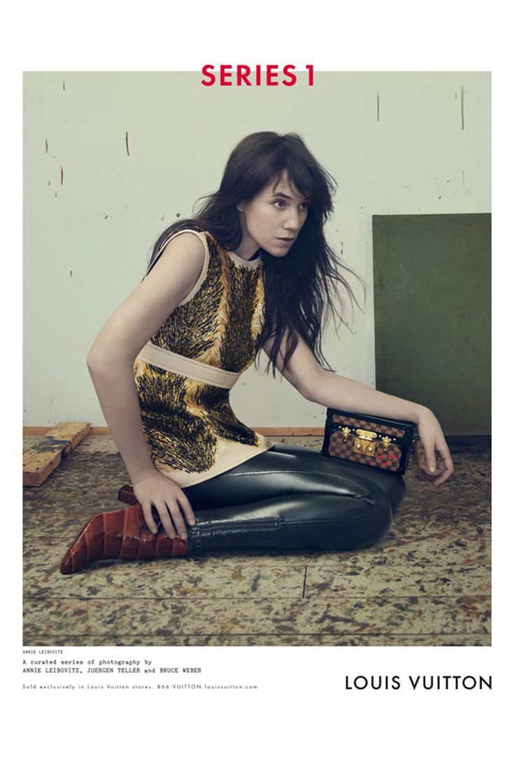 Charlotte Gainsbourg for Louis Vuitton, shot by Annie Leibovitz